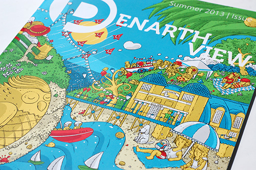 Penarth View illustration
