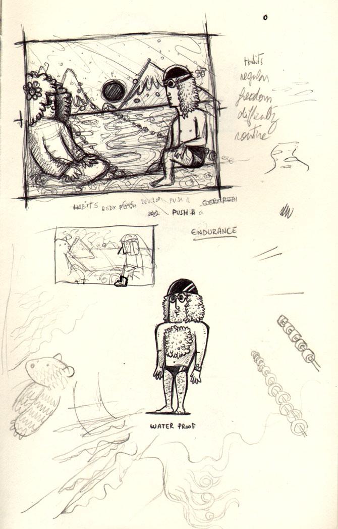 endurance-sketches